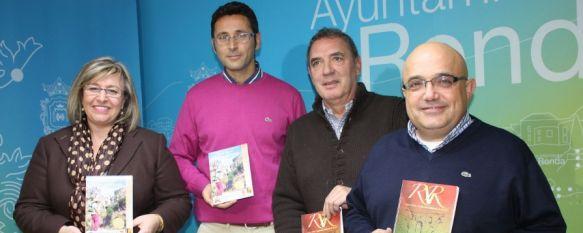 Presentan un mapa turístico con cartografía de la Serranía de Ronda, Ha sido elaborado por la empresa Ronda Cartográfica, con la colaboración de Turismo de Ronda y la Asociación de Viticultores de la Serranía, 21 Nov 2013 - 00:23