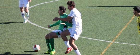 El C.D. Ronda cae en La Juventud ante un Mancha Real que fue superior , Ángel Oliva no pudo contar por diferentes motivos con cinco de sus teóricos titulares, 27 Nov 2013 - 20:34