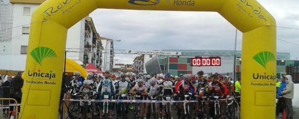 La II Ultramaratón de Acinipo congrega a más de 600 deportistas de toda España, El ganador en MTB fue Óscar Pérez, en ultrafondo se alzó con el primer puesto David Navarrete, mientras que José Ramón Cabrera fue el primero en la carrera de promoción, 13 Jan 2014 - 16:19