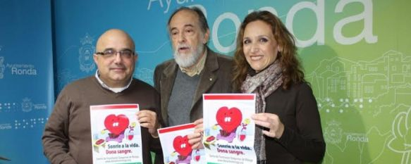 Las campañas de donación de sangre se trasladan al Teatro Vicente Espinel, La próxima cita tendrá lugar durante los días 15, 16 y 17 de este mes en horario de 10.00 a 14.00 y de 17.00 a 21.00 horas, 13 Jan 2014 - 17:33