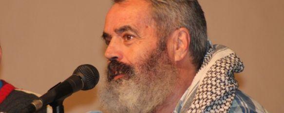 Sánchez Gordillo visita Arriate para incentivar la participación en las Marchas por la Dignidad , En la charla estuvo presente el ex alcalde de El Coronil José Antonio Núñez, 13 Jan 2014 - 20:04