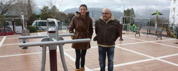 La Diputación destina casi 5.000 euros a la creación de un parque biosaludable en El Fuerte, La intención del equipo de Gobierno es la de instalar este tipo de espacios en otros puntos de Ronda, 28 Jan 2014 - 18:36