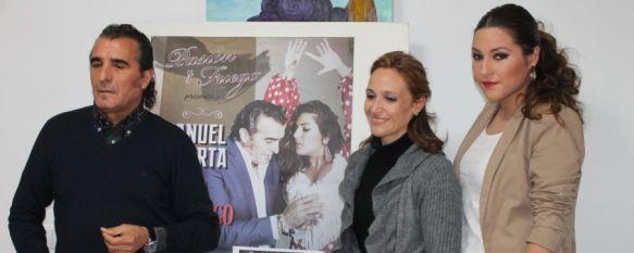 El espectáculo Pasión y Fuego llega a Ronda de la mano de Laura Gallego y Manuel Orta , Homenajerán a Lola Flores y Manuel Caracol el próximo viernes en el Teatro Municipal Vicente Espinel , 29 Jan 2014 - 18:52
