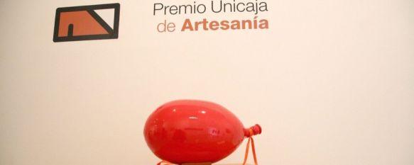 Artesanía moderna y llamativa en la muestra que acoge el Convento de Santo Domingo, La colección cuenta con un total de 39 obras premiadas y seleccionadas por la Obra Social de Unicaja, 11 Feb 2014 - 17:16