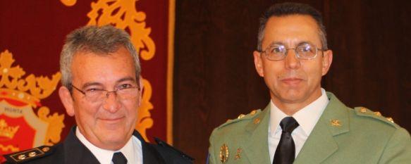 La Policía Nacional celebró ayer el día de sus patronos los Santos Ángeles Custodios, El jefe de la Comisaría de Ronda, Francisco José Núñez Bouzas, hace balance de la delincuencia en los últimos nueve meses, 04 Oct 2011 - 15:56