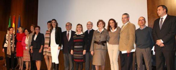 Toda una vida dedicada a la enseñanza, El Ayuntamiento de Ronda homenajea a los nueve profesores rondeños que finalizan su labor profesional durante este curso académico, 27 Mar 2014 - 19:47