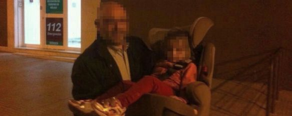 Los canguros van de verde , La Guardia Civil desarticula una banda organizada que operaba con un bebé de 18 meses, al que arropó personalmente el Capitán de este cuerpo en Ronda , 28 Mar 2014 - 12:39