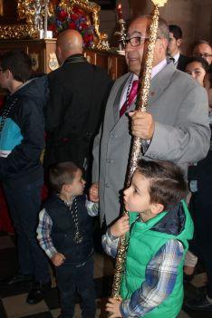 El Hermano Mayor del Santo Entierro, Antonio López Anet. // CharryTV