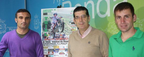 Los mejores pilotos de Andalucía se darán cita en el IX Trial Indoor Ciudad de Ronda, La prueba, que tendrá lugar el domingo, es puntuable para el Campeonato de Andalucía, 22 Apr 2014 - 19:10