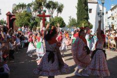 Momento de la actuación de los alumnos de los Coros y Danzas de Ronda. // CharryTV