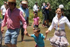El paso por el Quema supone también un alivio frente a las altas temperaturas. // CharryTV