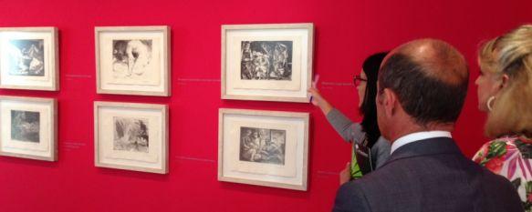 El Museo Joaquín Peinado acoge una colección de 111 obras del artista Pablo Picasso, La muestra cuenta con 11 piezas originales y 100 ejemplares de la reedición autorizada y limitada de La Suite Vollard, 09 Jul 2014 - 19:58