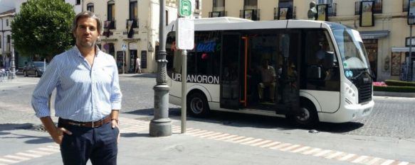 El Ayuntamiento anuncia que 36.000 usuarios ya han utilizado el servicio de autobús urbano, El delegado de Tráfico asegura que se van a seguir produciendo mejoras en el sistema de transporte , 30 Jul 2014 - 17:48