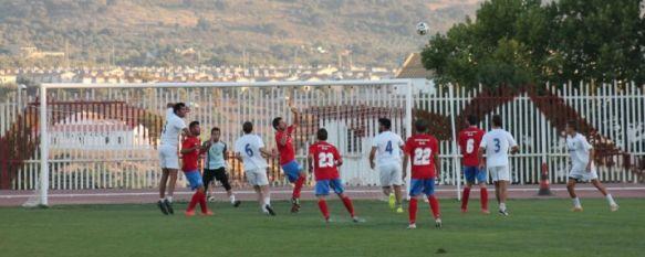 Tablas en el primer encuentro de pretemporada del nuevo C.D. Ronda (2-2), Ángel Oliva realizó numerosas pruebas en el empate ante el Ubrique U.D., de Tercera Andaluza, 07 Aug 2014 - 13:52