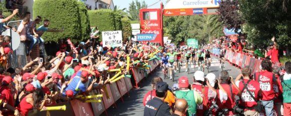 El Ayuntamiento cifra en más de 300.000 euros el impacto económico de La Vuelta , Televisiones de 178 países cubrieron la llegada a meta de la quinta etapa, 28 Aug 2014 - 16:31