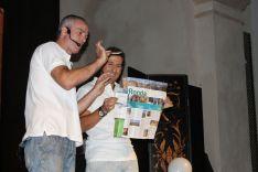 Fran Qué y Luigi Ludus han hecho disfrutar al público. // CharryTV