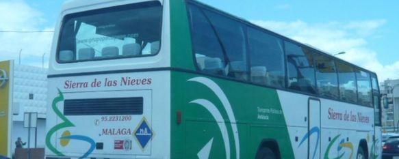 Un notable para el servicio de autobús del Grupo Paco Pepe en la línea que une Málaga y Ronda, La empresa ha recogido 532 opiniones y sugerencias entre los usuarios de Autocares Sierra de las Nieves, 08 Oct 2014 - 19:31