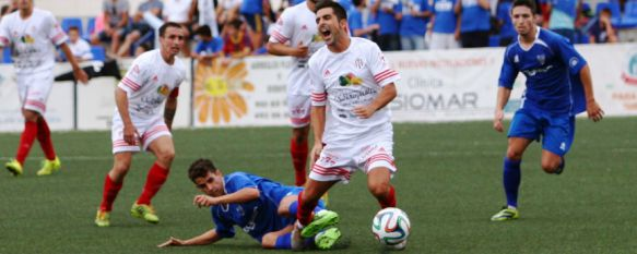 Remontada del CD Ronda ante el Atlético Melilla con triplete de Raúl Segura (4-2), Los rondeños suman ya quince puntos y se mantienen en la quinta posición, muy cerca de la promoción de ascenso, 12 Oct 2014 - 14:38