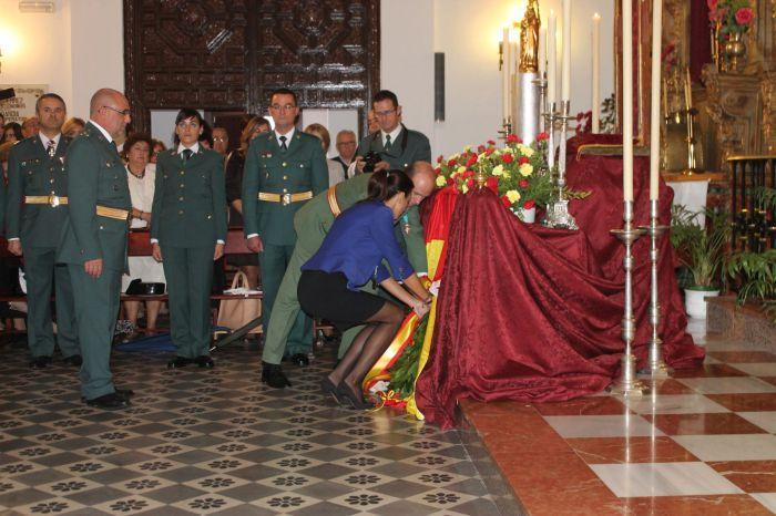 La guardia civil de ronda recibe el premio al mejor - Jefatura de trafico malaga ...