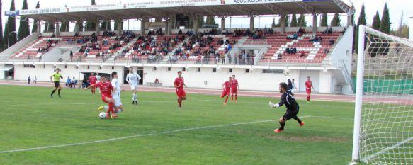 Jarro de agua fría en el descuento en el partido mil en categoría nacional (1-2), El CD Ronda cae derrotado ante el Maracena con un gol e Baraja en la última acción del choque , 23 Nov 2014 - 14:40