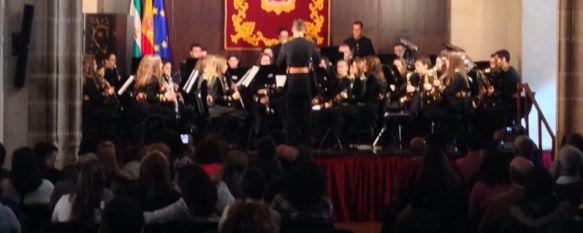 Imagen de la Banda Arunda en su último concierto en el Convento de Santo Domingo. // CharryTV
