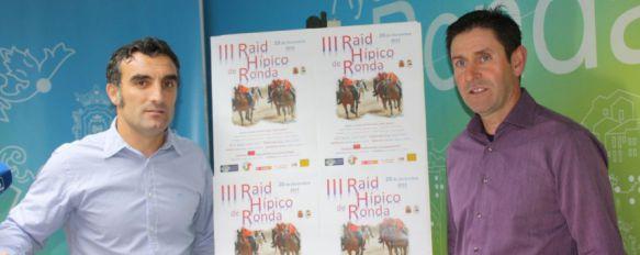 Presentan la III edición del Raid Hípico Ciudad de Ronda   , La prueba tendrá lugar el 20 de diciembre y ha sido organizada por el equipo Raid 'Correcaminos Ronda', 11 Dec 2014 - 18:34