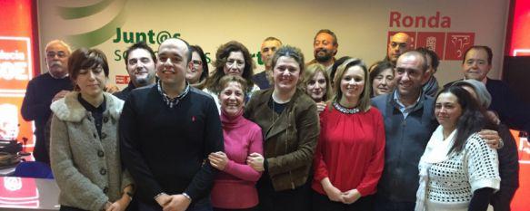 Susana Díaz presidirá la presentación de la candidatura del PSOE de Ronda, La socialista Teresa Valdenebro apuesta por una lista con numerosas caras nuevas para las elecciones del 24 de mayo, 30 Jan 2015 - 21:42
