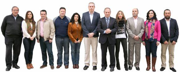 Los 11 de Antonio María Marín Lara, El exalcalde concurrirá a los comicios locales del 24 de mayo como candidato de Alianza por Ronda, 28 Mar 2015 - 02:21