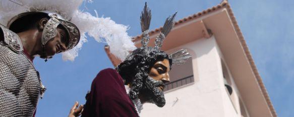 Nuestro Padre Jesús del Prendimiento, en su salida desde San Cristóbal. // CharryTV