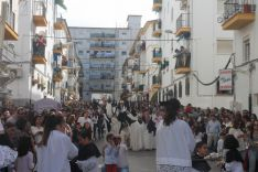 El barrio de San Cristóbal volvió a volcarse con El Prendi. // CharryTV
