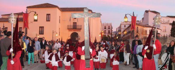 Cruz de Guía de Los Gitanos, que data del siglo XVI.  // CharryTV