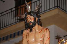 Detalle de Nuestro Padre Jesús en la Columna. // CharryTV