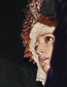 Detalle de la Virgen de las Penas.  // CharryTV