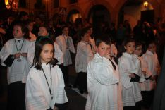 Escolanía de voces blancas de la Hermandad de Paz y Caridad y de la Vera+Cruz. // CharryTV