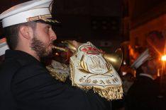 La Banda de Cornetas y Tambores Nuestra Señora del Rosario, de Arriate, acompañó a Padre Jesús.  // CharryTV