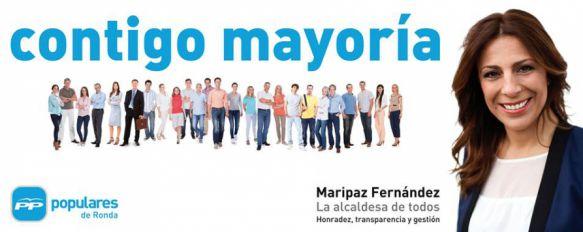 Maripaz Fernández apostará por la continuidad en su intento por revalidar la alcaldía, Elena Jiménez y Carlos Ruiz, únicas novedades en los puestos de salida de la lista del Partido Popular, 08 Apr 2015 - 21:12