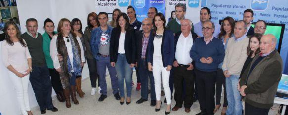 Fernández presenta oficialmente la candidatura del Partido Popular a las próximas locales, El único cambio respecto a la que avanzó este medio es que Carlos Ruiz adelanta en la lista a Juan Vega , 15 Apr 2015 - 19:59