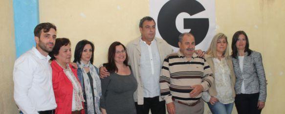 Sergio Flores vuelve a la primera línea política como candidato a la alcaldía de Ganemos , La candidatura ciudadana que encabeza ha elaborado 400 propuestas para acabar con