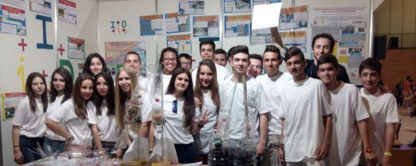 Premian a un grupo de alumnos del Martín Rivero en la XIII Feria de la Ciencia de Sevilla, Se trata de uno de los eventos divulgativos relacionados con la ciencia más importantes de Andalucía , 21 May 2015 - 16:31