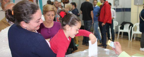 Ronda vota a sus representantes municipales en los comicios más plurales en 28 años, El voto de 27.753 rondeños pondrá a prueba al bipartidismo y el poder de las formaciones emergentes , 24 May 2015 - 12:43