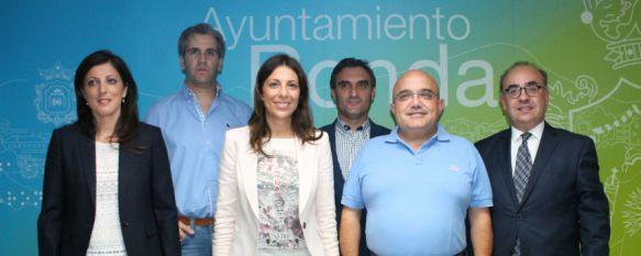 La alcaldesa hace el reparto de delegaciones entre los miembros del grupo municipal del PP  , La regidora, María de la Paz Fernández, estará al frente de Hacienda y Urbanismo, 15 Jun 2015 - 17:46