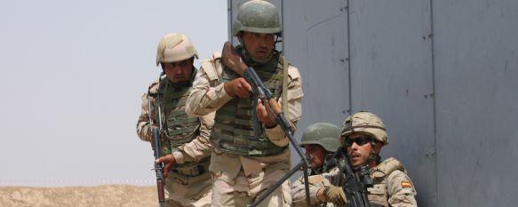 La Legión concluye el adiestramiento de una unidad militar iraquí , Los instructores españoles han formado a la Brigada 92 para el combate contra el Daesh, durante tres meses , 23 Jun 2015 - 18:16