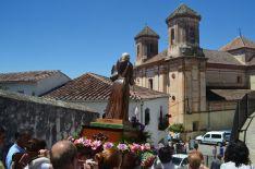 La Imagen de Fray Leopoldo de camino a la Catedral de la Serranía. // CharryTV