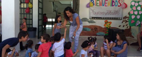 Vuelta al cole para 3.614 niños rondeños de Infantil y Primaria, Hoy se han puesto en marcha los comedores y el aula matinal, mientras que los institutos retomarán las clases el próximo martes, 10 Sep 2015 - 16:53