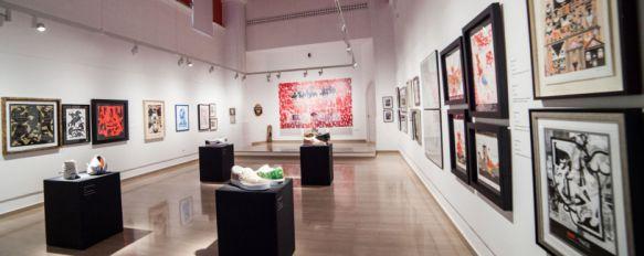 La exposición permanecerá abierta hasta el 15 de diciembre. // CharryTV