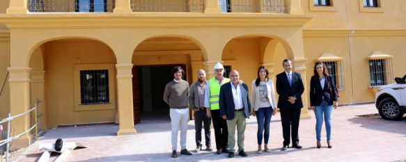 Las instalaciones se encuentra en la Finca La Molinilla, en la carretera de El Burgo. // CharryTV