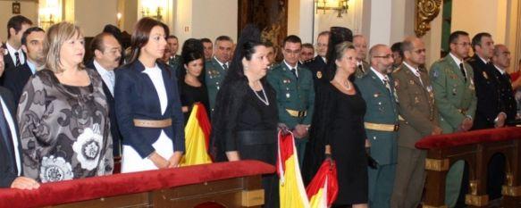 La Guardia Civil celebró ayer el día de su Patrona, la Virgen del Pilar, Este año se han suspendido varias actividades por la reducción de presupuesto, 13 Oct 2011 - 16:08