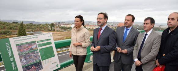 Entran en funcionamiento los accesos a la circunvalación , La Consejería de Fomento y Vivienda ha invertido 13,6 millones de euros en la actuación, 19 Oct 2015 - 17:33