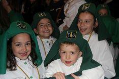 Numerosos niños realizaron el recorrido entre San Cristóbal y la Ermita de la Concepción // CharryTV