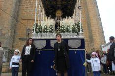 Nuestra Señora de Loreto ha procesionado tras su restauración // CharryTV